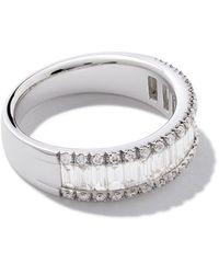 AS29 Essentials ダイヤモンド リング 18kホワイトゴールド - マルチカラー
