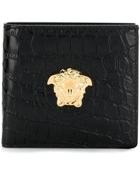Versace - Medusa Head Wallet - Lyst