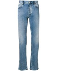 Stone Island - Straight Stonewashed Jeans - Lyst