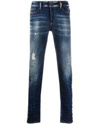 DIESEL Slim Faded Jeans - ブルー