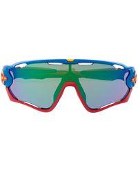 Oakley Jawbreaker Sunglasses - Blue