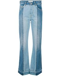 Golden Goose Deluxe Brand Flared Jeans - Blue