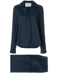 Prada - Relaxed-fit Pyjama Suit - Lyst