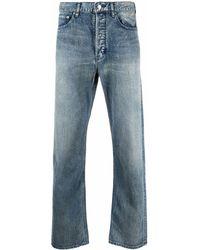 Ambush Regular Fit Denim Pants Blu Washed No Co - ブルー