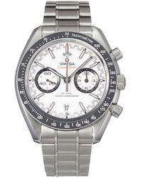 Omega Наручные Часы Speedmaster Co-axial Master Chronometer 44.25 Мм - Белый