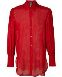 Ann Demeulemeester - Oversized Cuffs Shirt - Lyst
