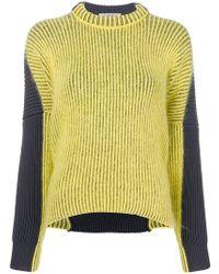 Sportmax - Bicolour Sweater - Lyst