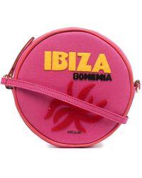 Olympia Le-Tan Ibiza ラウンド ショルダーバッグ - マルチカラー