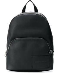 Calvin Klein Rucksack mit eingeprägtem Logo - Schwarz