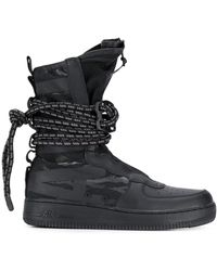 Nike Special Field Air Force 1 Hi Trainers - Black