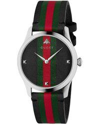 Gucci Montre G-Timeless, 38 mm - Multicolore