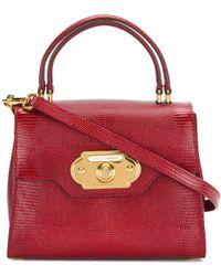 Dolce & Gabbana Сумка С Верхней Ручкой 'welcome' - Красный