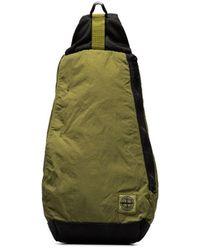 Stone Island Рюкзак Chartreuse На Одно Плечо - Зеленый