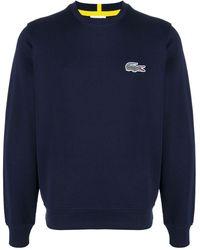 Lacoste ロゴ スウェットシャツ - ブルー
