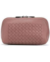 Bottega Veneta Косметичка На Молнии - Розовый