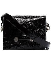 Marni Caddy Crinkle Belt Bag - Black