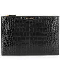 Givenchy アンティゴナ クラッチバッグ M - ブラック