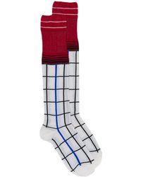 Marni - チェック靴下 - Lyst