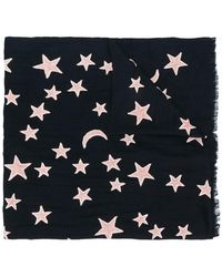Lily and Lionel - Star Embroidered Scarf - Lyst