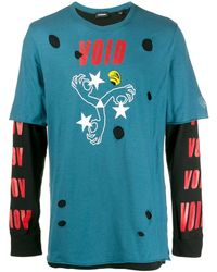 DIESEL T-shoot-lay スウェットシャツ - ブルー
