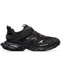 Balenciaga Sneakers mit geriffelter Sohle - Schwarz