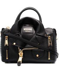 Moschino ライダースジャケット バッグ - ブラック