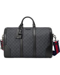Gucci Soft GG Supreme Carry-on Duffle - Zwart