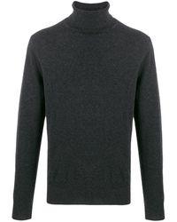 N.Peal Cashmere タートルネック セーター - グレー