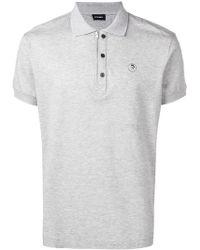 20626b23 DIESEL 'T-Hiroe' Polo Shirt in Black for Men - Lyst