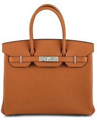 Hermès Сумка Birkin 30 Pre-owned - Оранжевый