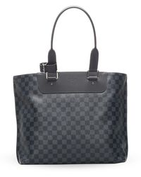 Louis Vuitton Сумка-тоут Damier Graphite 2016-го Года Pre-owned - Черный