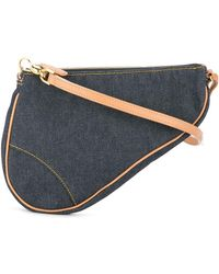 Dior Saddle-Bag - Blau