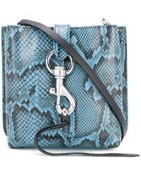 Rebecca Minkoff Megan Mini Crossbody Bag - Blue