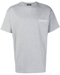 Balenciaga - Political Campaign T-shirt - Lyst