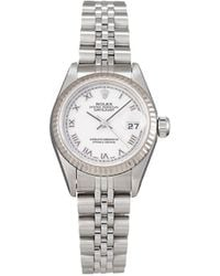 Rolex 2003 Pre-owned Lady-datejust 26mm - White