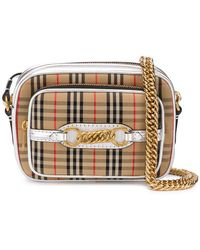 Burberry - The 1983 Check Link Camera Bag - Lyst