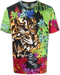 Just Cavalli - フローラル タイガー Tシャツ - Lyst