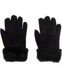 Parajumpers Sheepskin Pull-on Gloves - Black