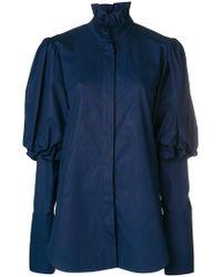 Ellery - Rancho Puff Sleeve Shirt - Lyst