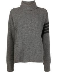 Thom Browne タートルネック セーター - グレー