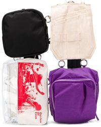 Raf Simons X Eastpack Loop Garden Pocket Bag - Purple