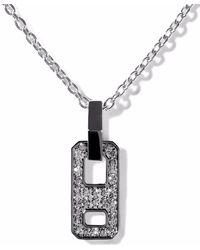 AS29 Dna ダイヤモンド ネックレス 18kブラックゴールド
