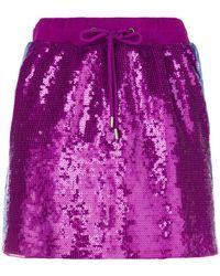Alberta Ferretti Rainbow Week Skirt - Pink
