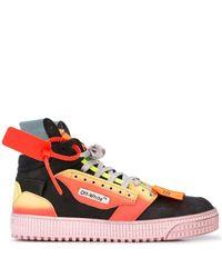 Off-White c/o Virgil Abloh Sneakers Met Beveiligingstag - Zwart