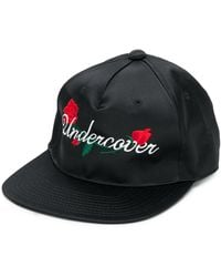 Undercover Embroidered Logo Baseball Cap - Black