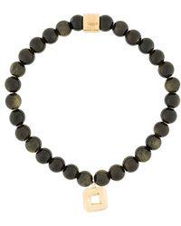 Northskull - Obsidian Bracelet - Lyst