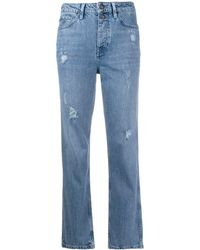 Tommy Hilfiger Tapered-Jeans - Blau
