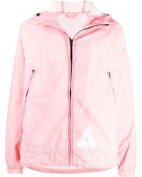 Palace Куртка Reacto На Молнии - Розовый