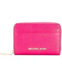 MICHAEL Michael Kors - Jet Set Cardholder Wallet - Lyst