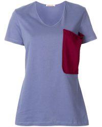 Marni - Patch Pocket T-shirt - Lyst